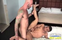 Twink takes a big cock in the ass