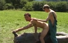 Young boys fucking outdoor