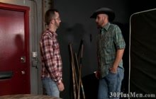 Bald stud gets his tight ass fucked