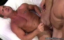 Gay hunk gets fucked in the ass